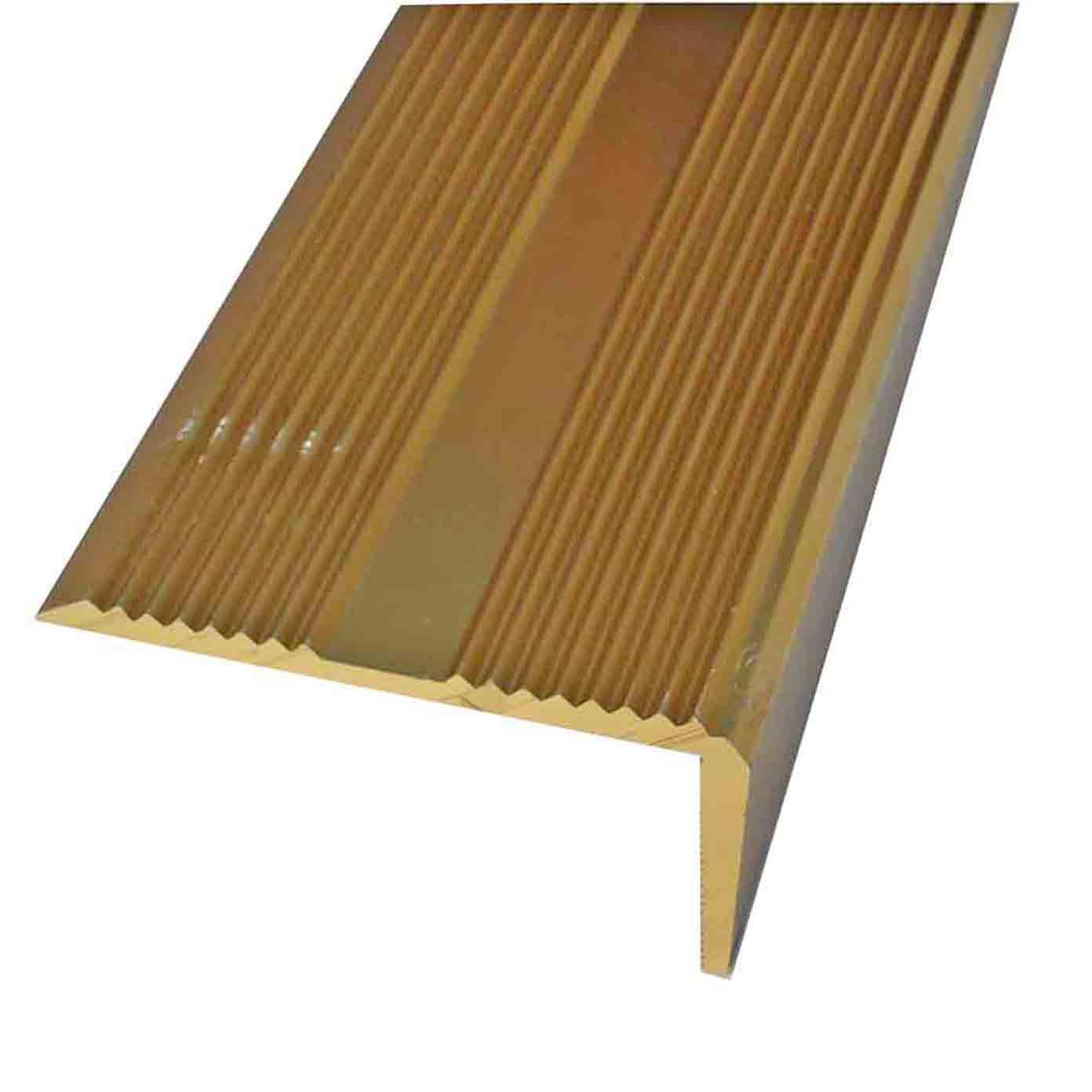 Buy Carpet Matwell Angle Gold Door Trim X 2 7 Mtr Long