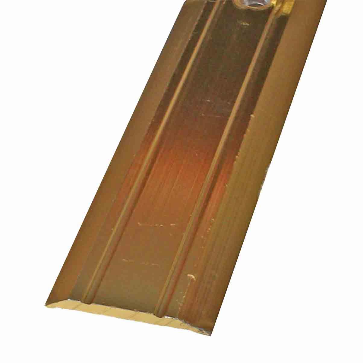 Vinyl small cover gold door trim x 2 7 mtr long