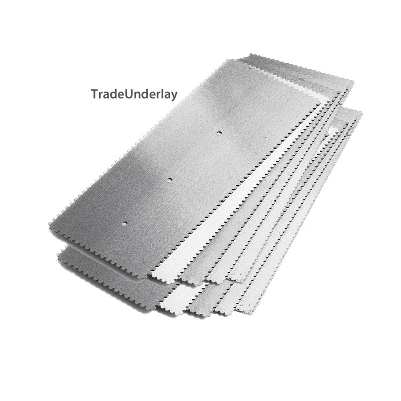 Buy Adhesive Notched Trowel Blades A2 X 10 Blades