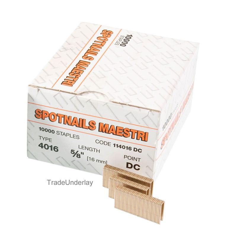 Buy Spotnails Maestri 4016 Flooring Staples 4000 16mm X