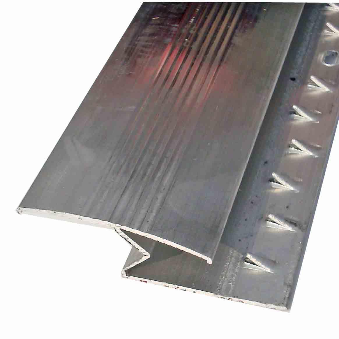 Buy Carpet To Laminate Silver Door Trim Zig Zag 14mm X 2