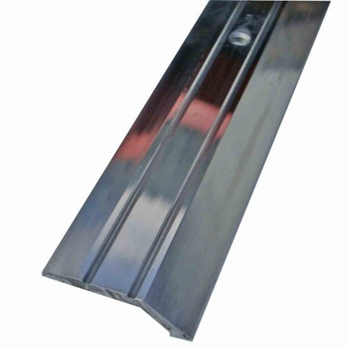 Buy Vinyl Edge Ramp Silver Door Trim X 2 7 Mtr Long