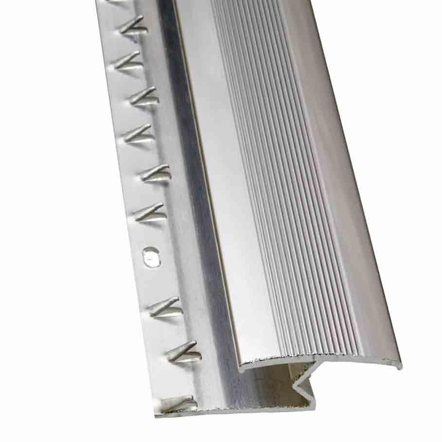 Buy Carpet To Laminate Silver Door Trim Zig Zag 9mm 45 X