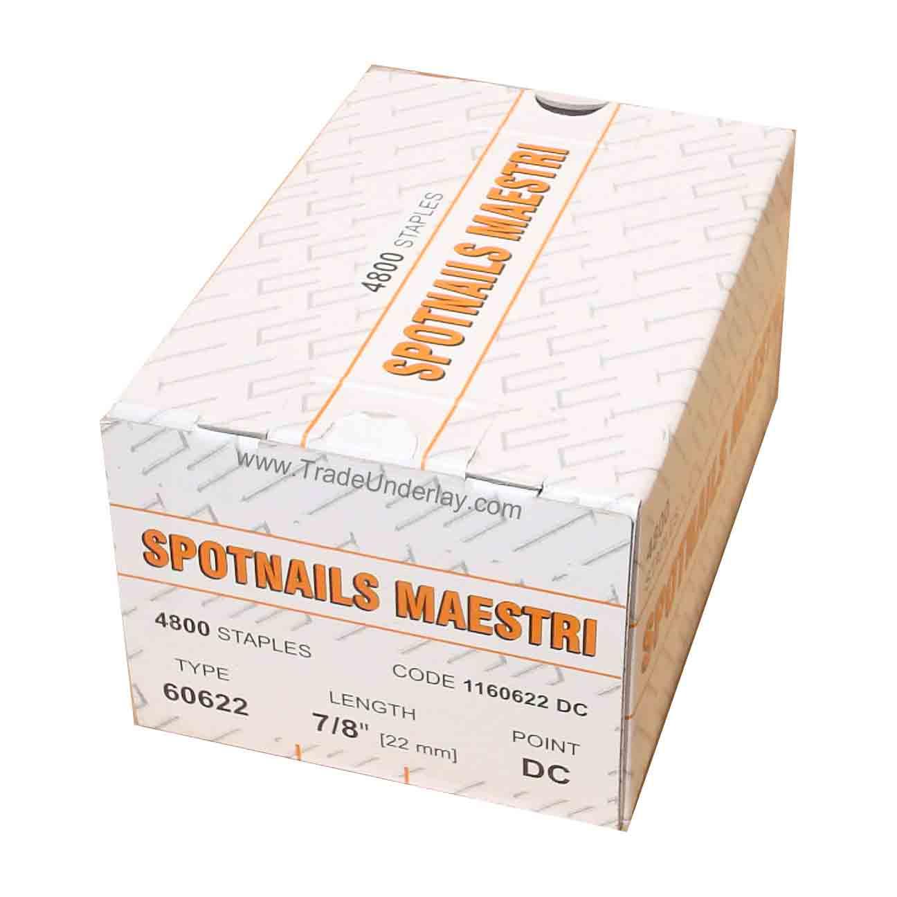 Spotnails Maestri 60622 Flooring Staples 606/22mm X 4800