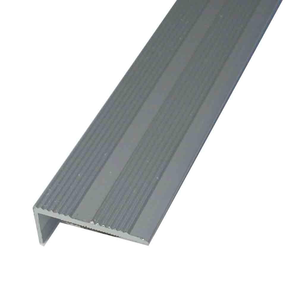 Buy Laminate Stick Down Angle Edge Silver Floor Trim 2
